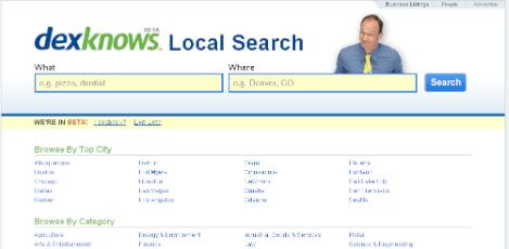 Dex Yellow Pages- Online Phone Book Directory for Local Business Listings
