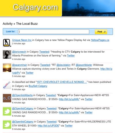 Calgary.com Realtime Home