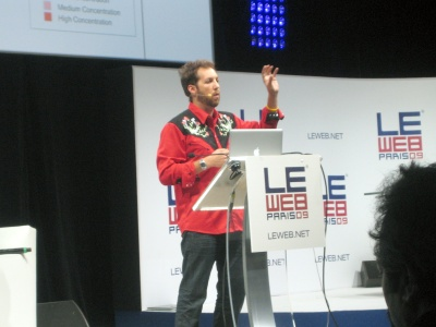 Chris Sacca LeWeb Paris December 2009