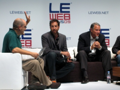 Dave McClure Chris Sacca Danl Lewin LeWeb Paris December 2009