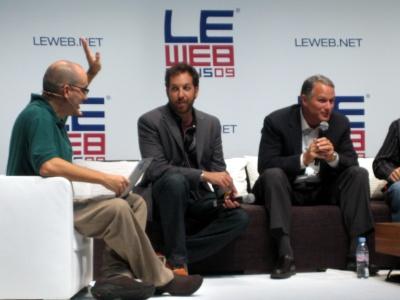 Dave McClure Chris Sacca Danl Lewin LeWeb Paris December 2009