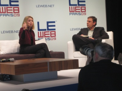 Marissa Mayer Google Michael Arrington Techcrunch LeWeb Paris December 2009 - 1