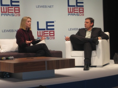 Marissa Mayer Google Michael Arrington Techcrunch LeWeb Paris December 2009 - 2