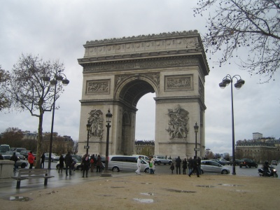 Paris December 2009 Arc de Triomphe