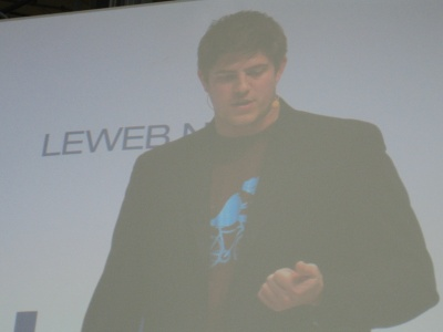 Ryan Sarver Twitter  LeWeb Paris December 2009