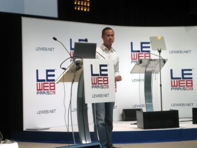 Tony Hsieh Zappos LeWeb Paris December 2009