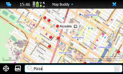 Nokia N900 Mapping Application Map Buddy Praized Media
