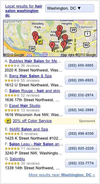 Google Local Ad Product Tags